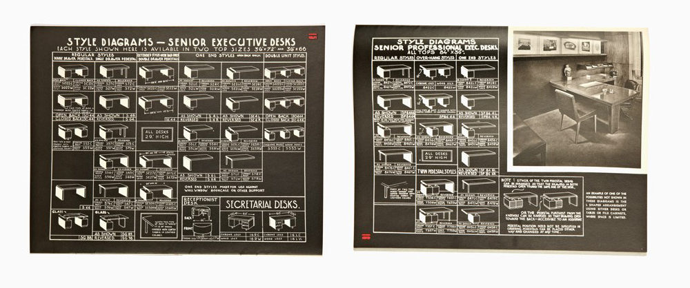 Herman Miller style diagrams