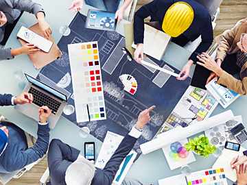 Designers And Architects At Work