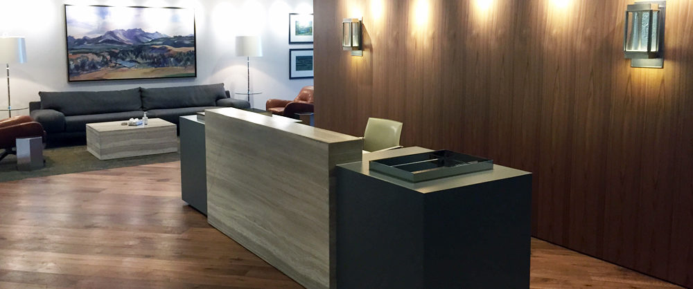 Enbridge Calgary Office Reception Desk