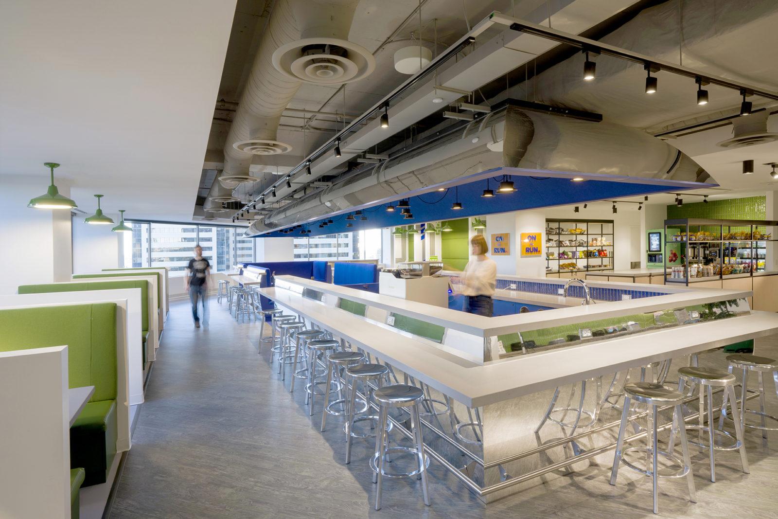 17th Floor Employee Cafe